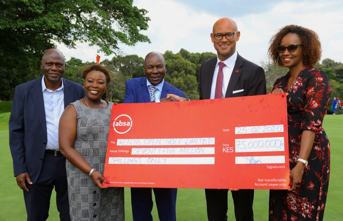 Absa Injects Ksh 75M into Golf Tourney