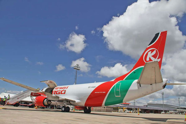 KQ SUSPENDS STAFF OVER Chinese plane viral video