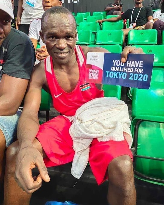 Nick Okoth lands a Tokyo Olympics ticket for boxing