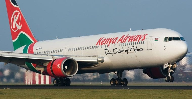 Kenya Airways suspends Rome- Geneva flights due to COVID 19