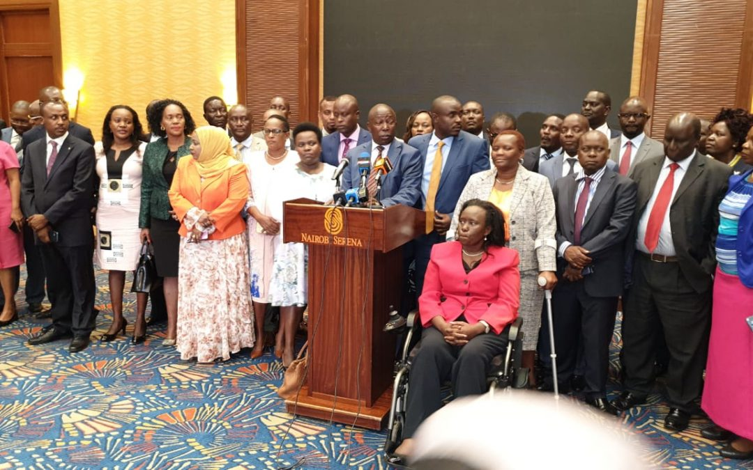 70 MPs Accuse DP Ruto of disrespecting the presidency