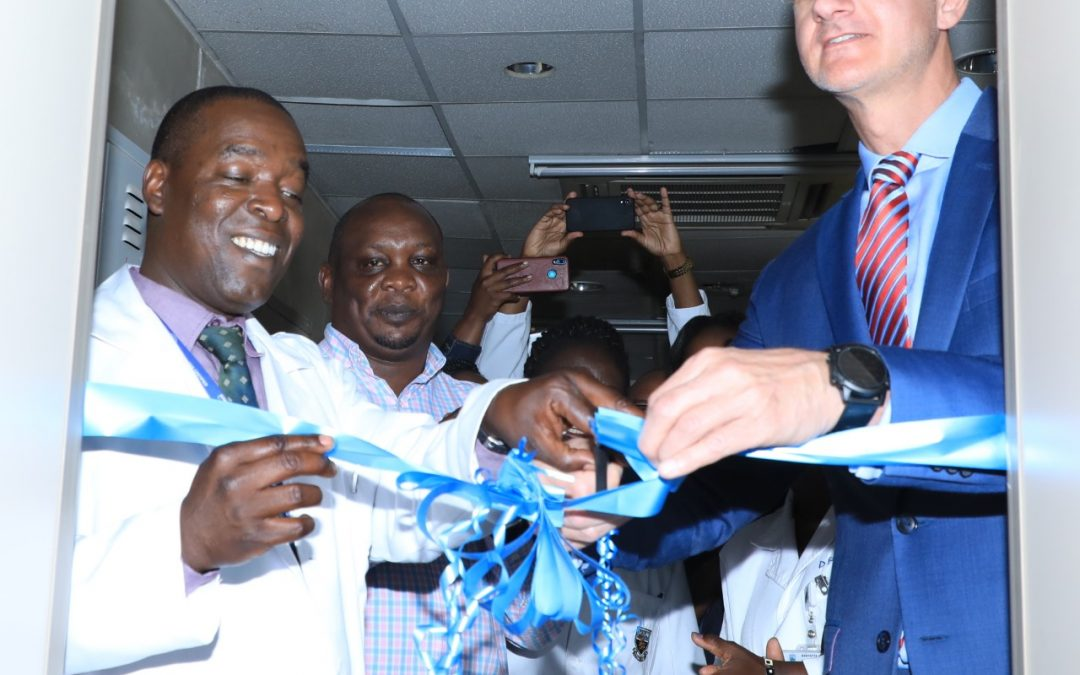 Phillips and KNH install 24-hour operating MRI machine
