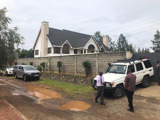 Echesa house raided by Economic Crime detectives