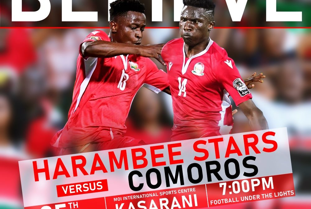 Harambee stars in camp ahead of AfCON clash with Comoros