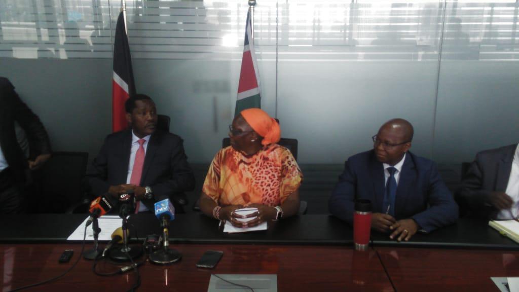 CS Munya hands over Trade docket to Betty Maina