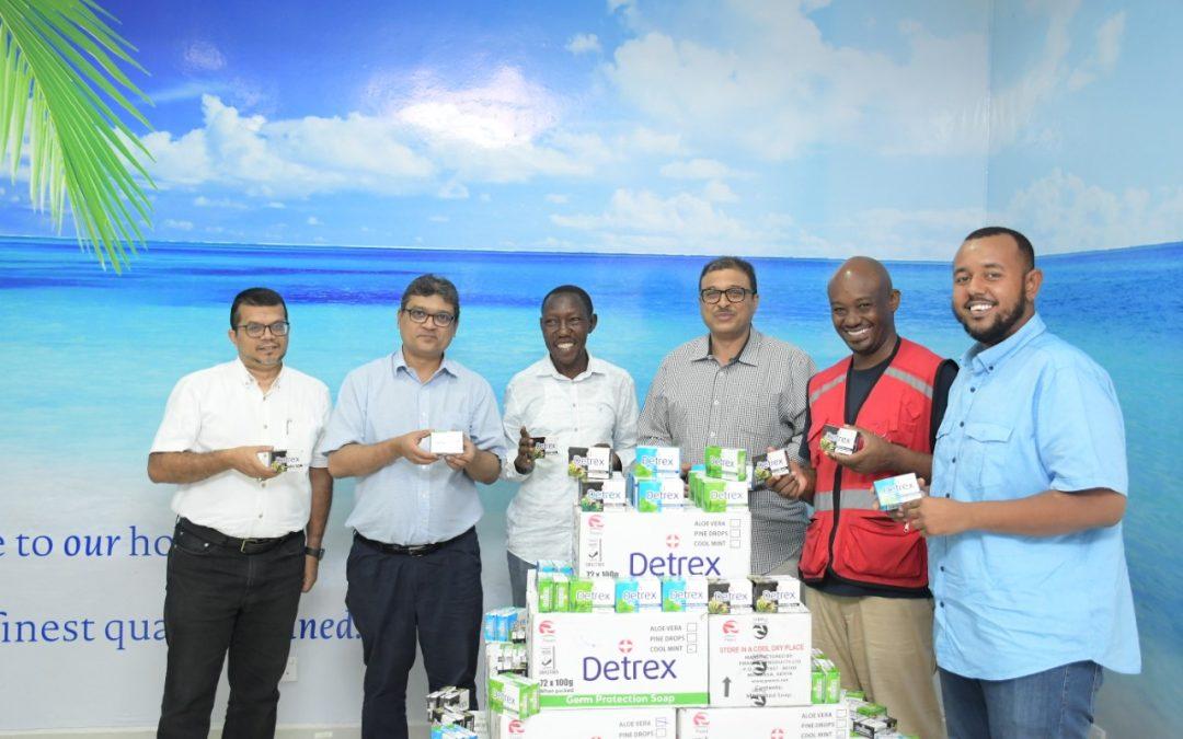 PWANI OIL AND KENYA FERRY TO GIVE COMMUTERS HAND WASHING KITS