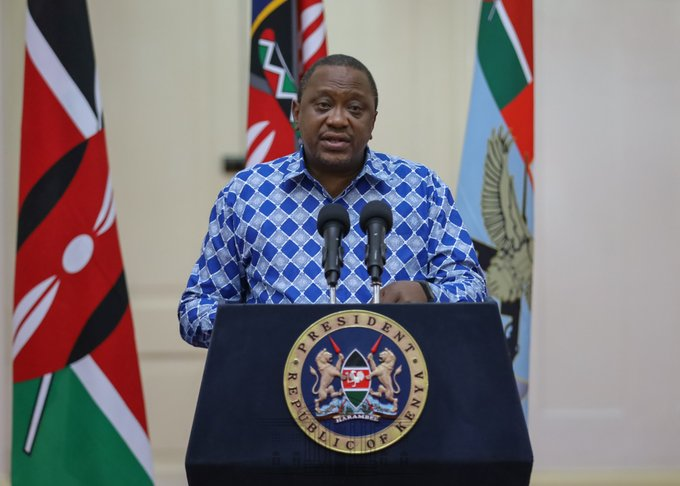 PRESIDENT TO LEAD OFFICIALS TAKING PAYCUT OVER COVID 19 PANDEMIC, AS NIGHT CURFEW BEGINS FRIDAY