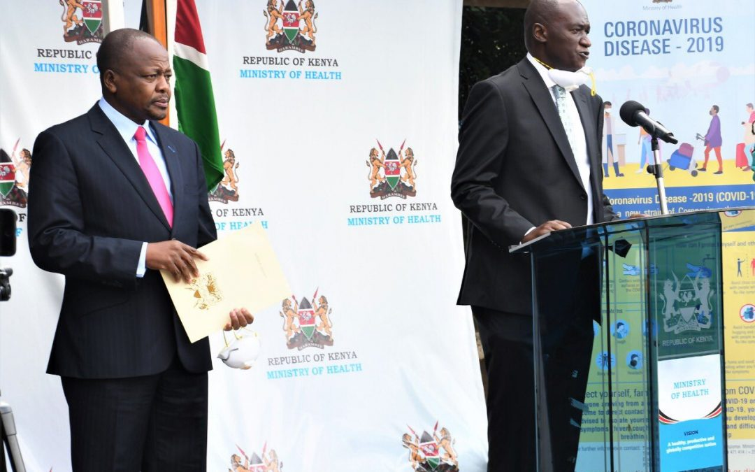 3 recoveries, as KENYA NOW RECORDS 172 COVID 19 CASES
