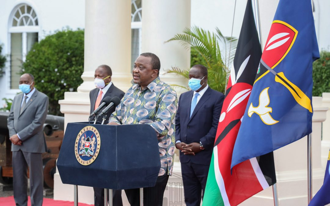 President Kenyatta forms working groups to flatten COVID 19 Curve