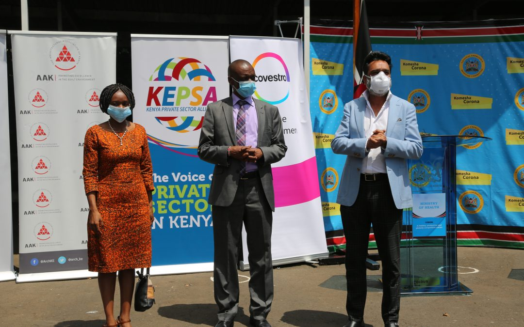 KEPSA Health Sector Board and Partners Donate to Ministry of Health