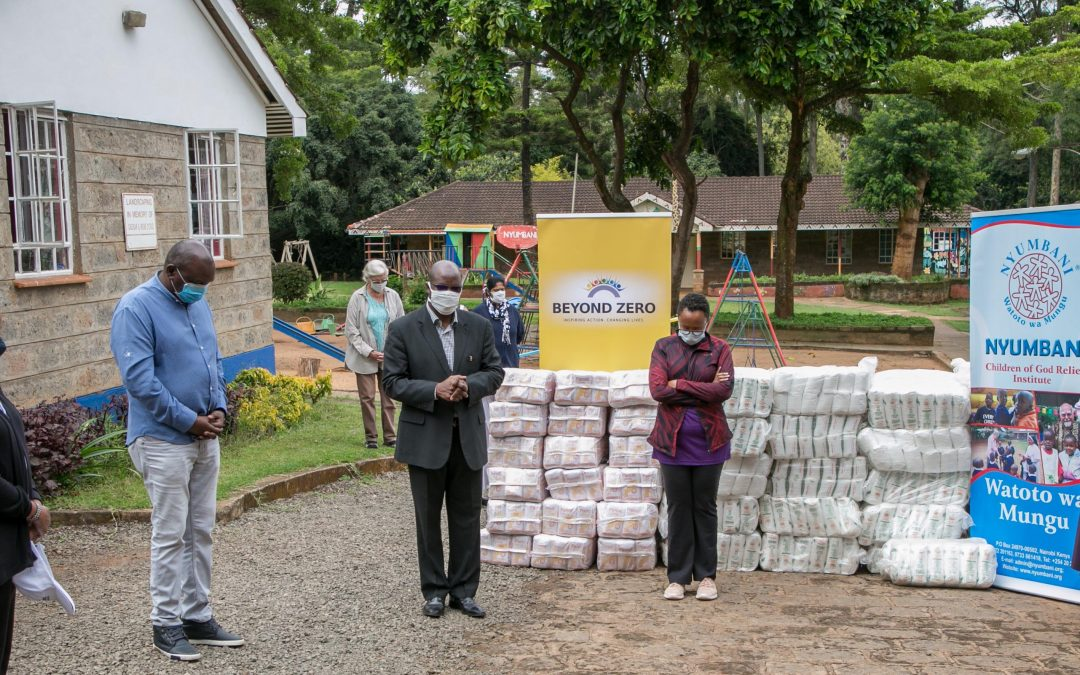 Beyond Zero Donates Assorted Food Items to Nyumbani Children's Home