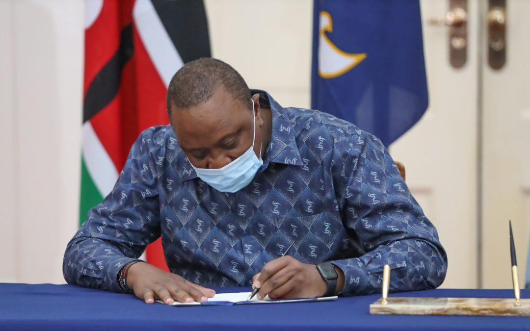 President Kenyatta signs into Law the KICD Amendment Bill