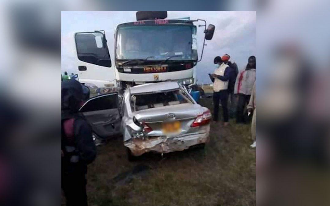 DEADLY CRASH CLAIMS FIVE LIVES ALONG NYERI-NANYUKI HIGHWAY