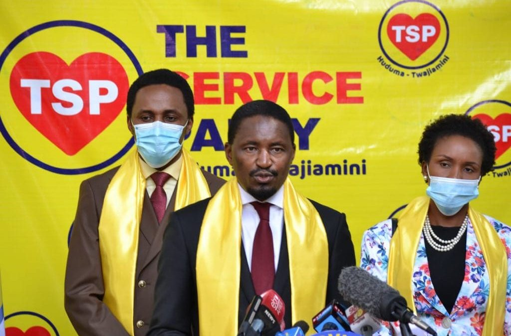 Former CS Kiunjuri Launches The Service Party