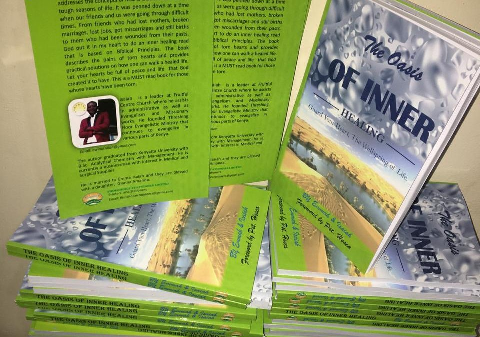 """""""Oasis of Inner Healing"""" book launched to mend torn hearts"""