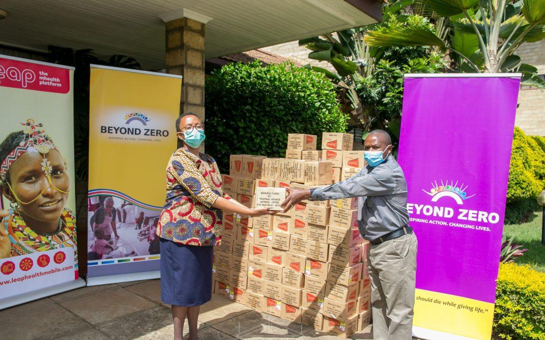 Beyond Zero and AMREF to Train Health volunteers on Covid-19
