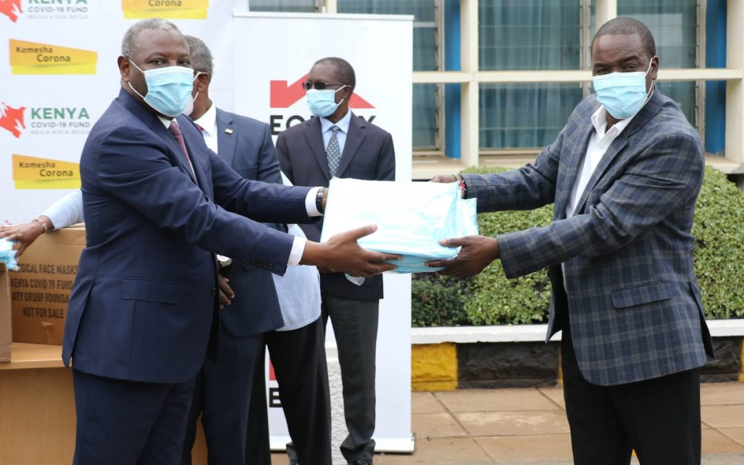 Public Hospitals begin receiving PPEs from Kenya COVID-19 Fund