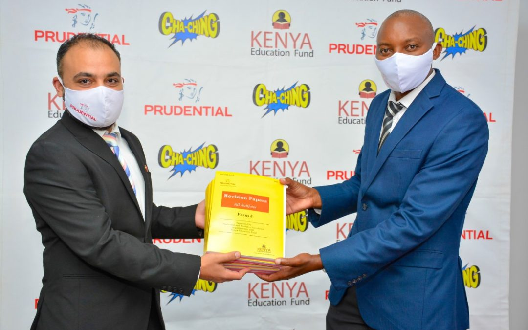 Prudential Life Assurance donates learning materials
