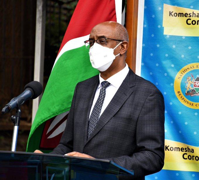 Kenya now 59 cases shy of  7,000 COVID 19 mark