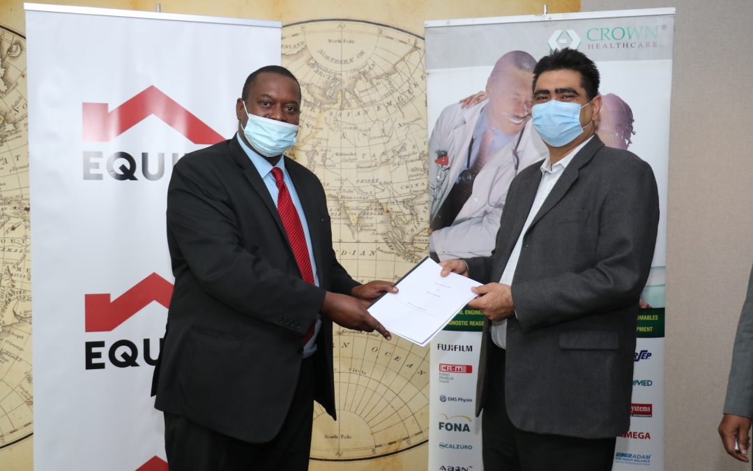 EQUITY PARTNERS WITH CROWN HEALTHCARE TO SUPPORT SMEs IN HEALTH SECTOR