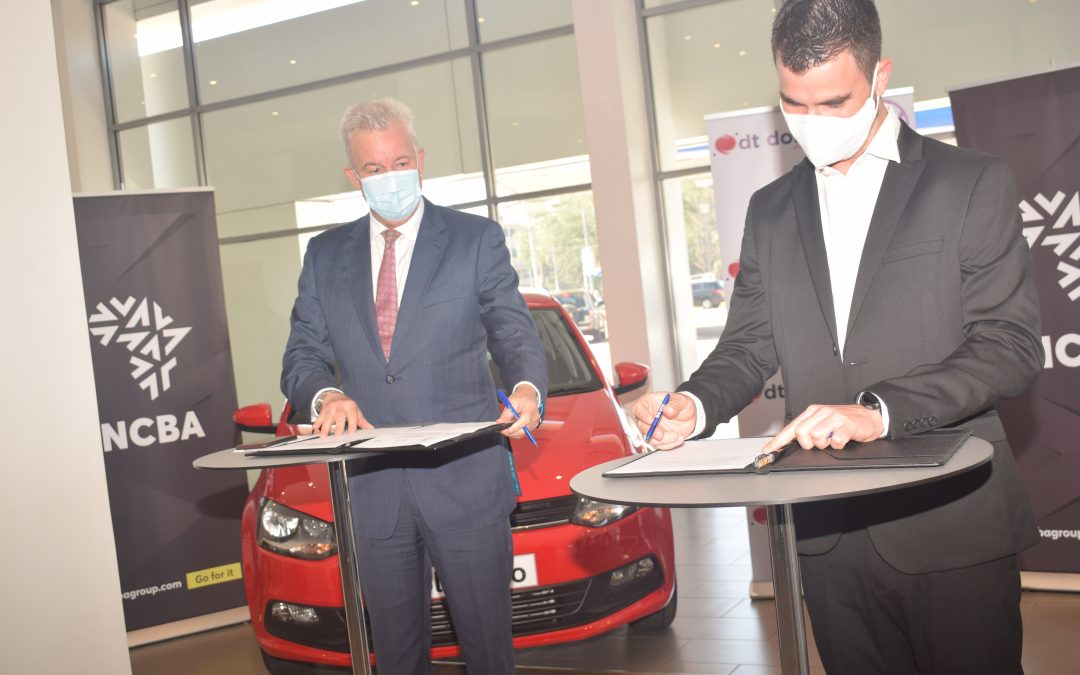 NCBA bank sign deal with DT Dobie for VW Polo Vivo purchase