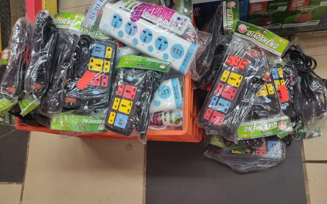 KEBS seizes substandard portable socket outlets