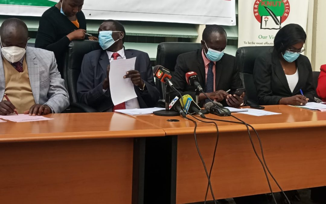 KNUT instructs schools to set up Gender recovery desk as schools prepare to resume