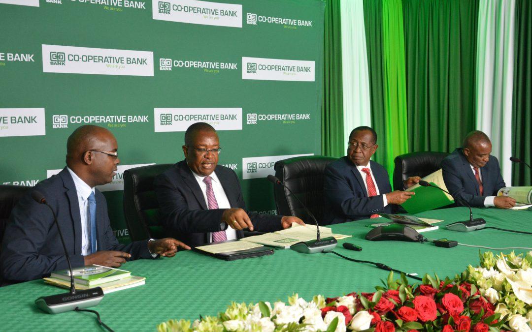 CO-OP BANK AGM RATIFIES SH5.9 BILLION DIVIDEND PAYOUT