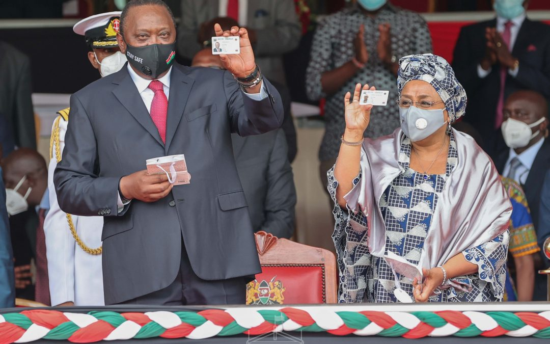 Kenya Celebrates 57th Mashujaa Day and unveils first Huduma Namba cards