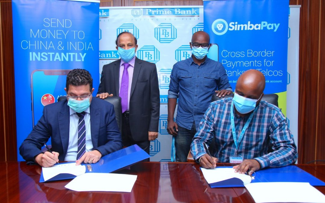 Prime Bank Launches  International Money Transfer Service