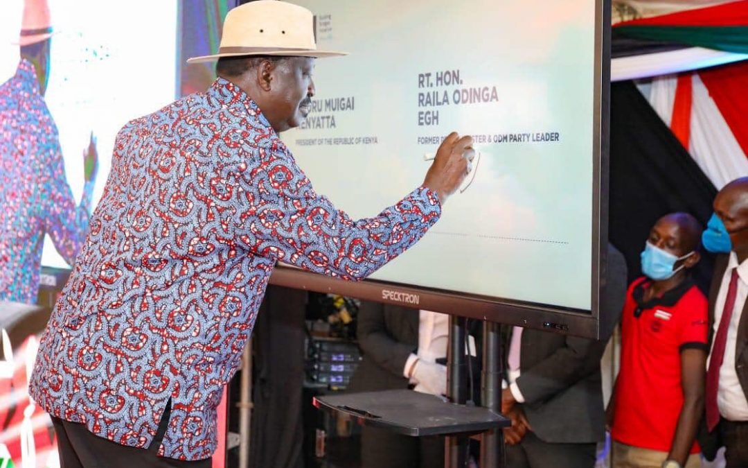 BBI Signature collection exercise gains momentum as political parties join in