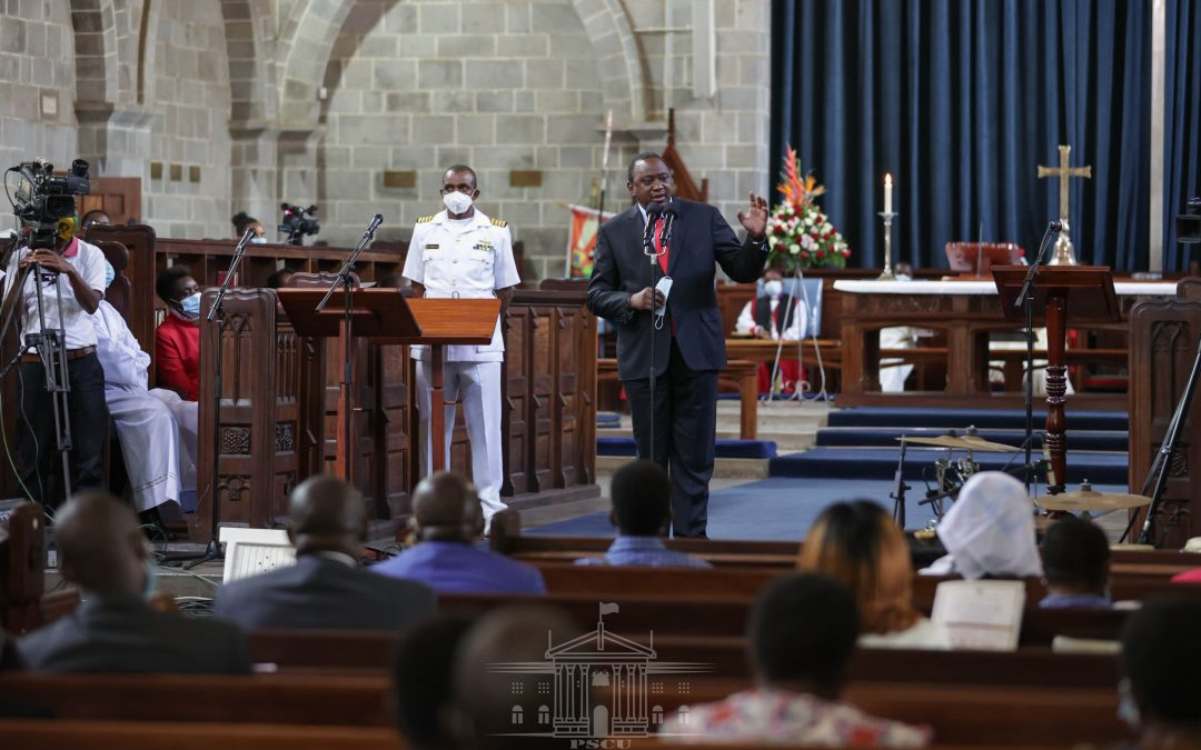 Pres. Kenyatta joins Anglicans to celebrate 50 years
