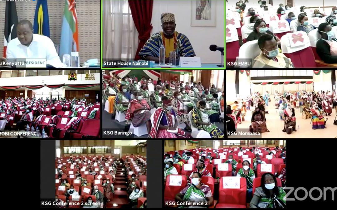 Pres. Uhuru lauds Maendeleo ya Wanawake rights efforts