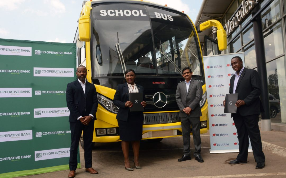 Coop Bank partners with DT Dobie for leasing of Mercedes-Benz buses