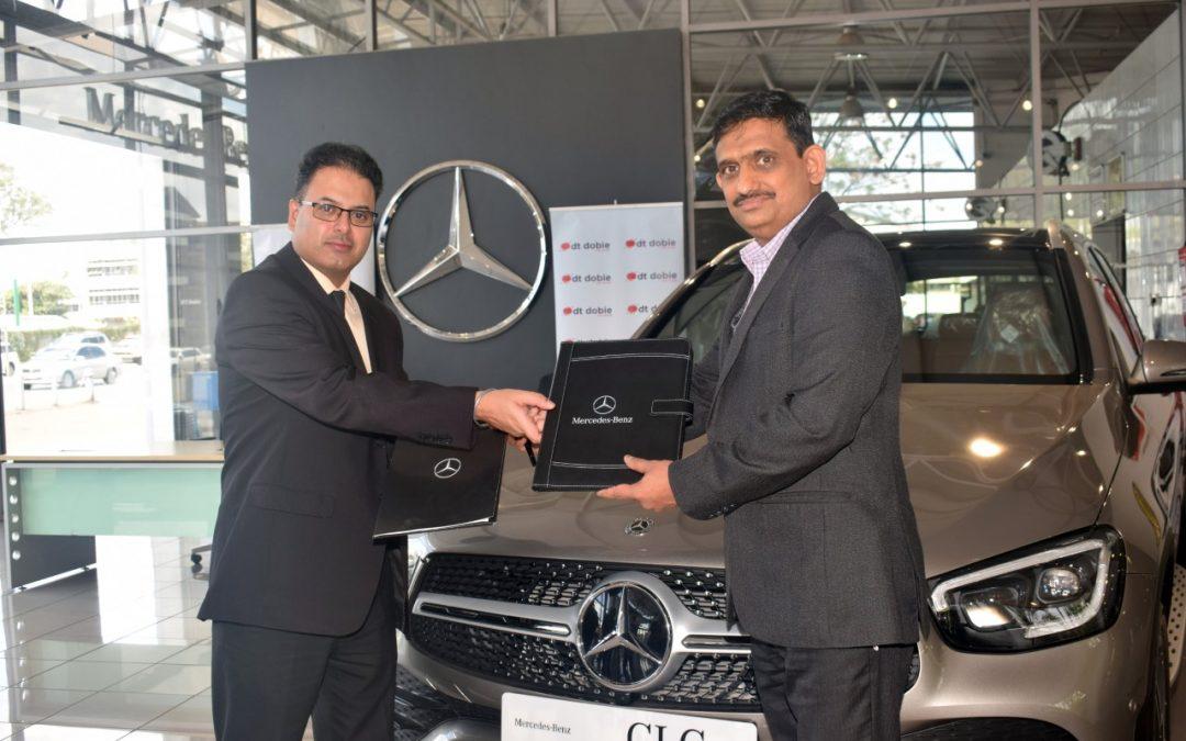 Prime Bank partners with DT Dobie for high end Mercedes models offer