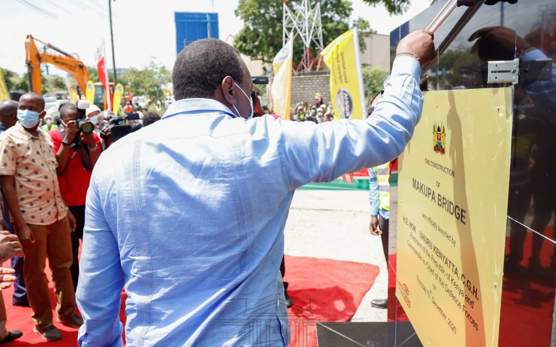 Pres. Uhuru unveils development projects in a message of progress to Mombasa