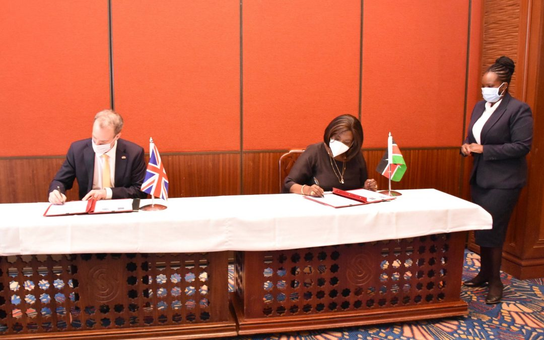 Foreign Affairs CS holds bilateral talks with UK counterpart, as Kenya readies for COVID 19 vaccine
