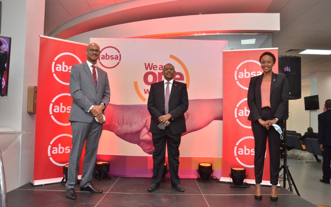 Absa Bank marks 1st anniversary, pledges technology use for service delivery