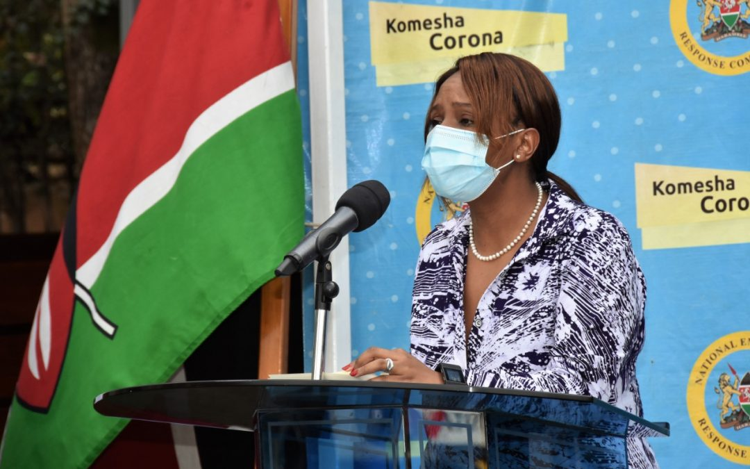 Steady recoveries rate as MoH urges Kenyans to strictly adhere to COVID 19 rules