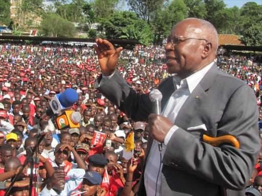 Condolences as Former Minister Simeon Nyachae dies
