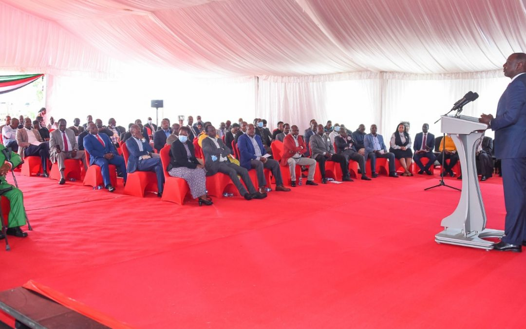 Deputy President hosts leaders amidst claims of political intolerance ahead General polls