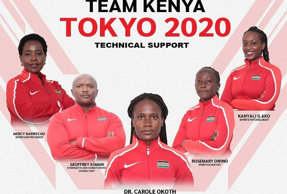 NOCK unveils Technical support team to support Tokyo Olympics squad