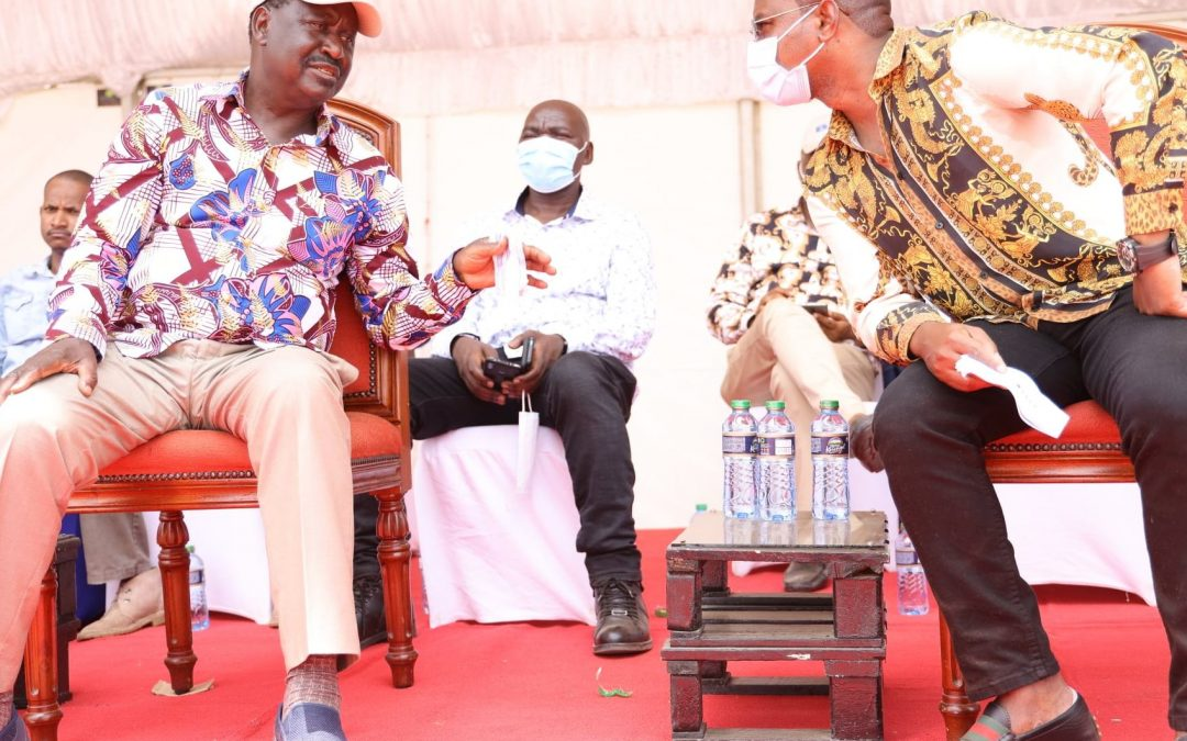 Raila , Kingi differ over coastal regional party formation