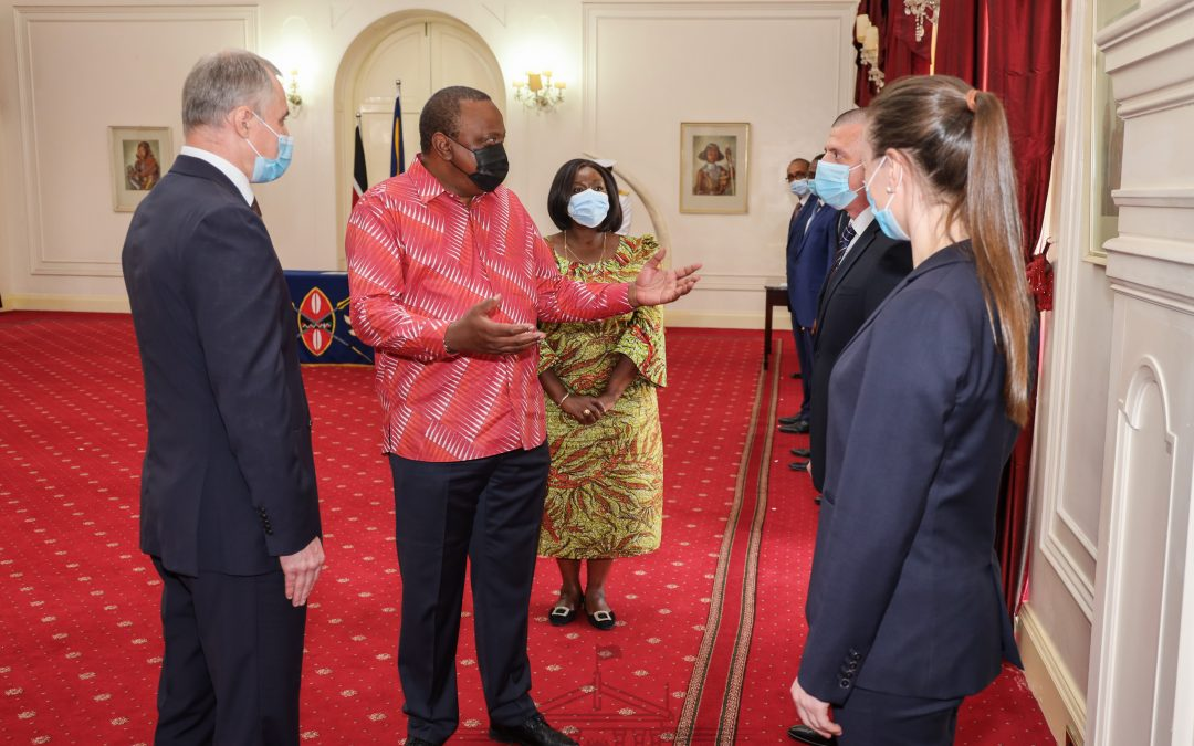 Pres. Uhuru receives envoys, stresses need for nations to work together