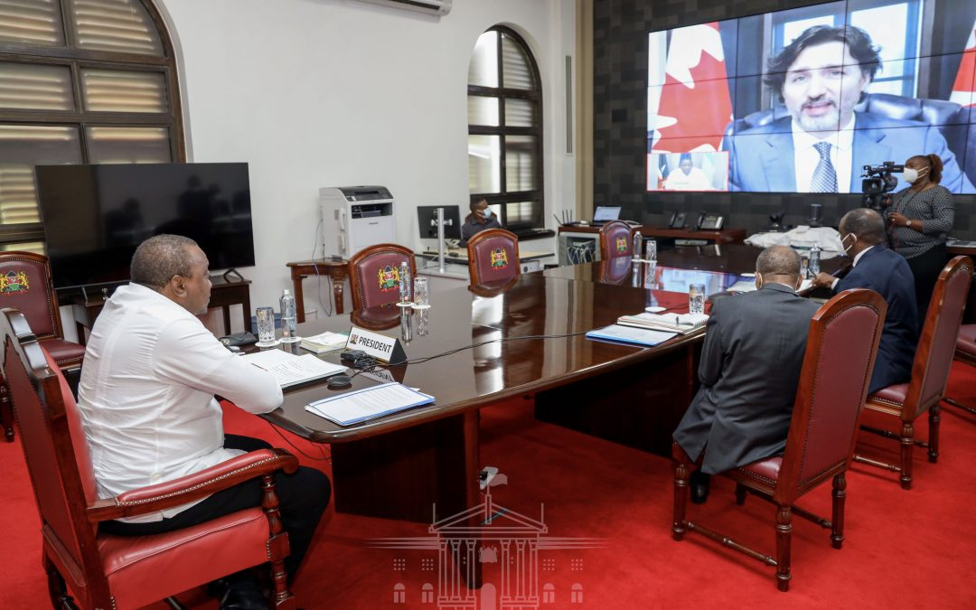 President Kenyatta Roots for New Approaches to Financing Africa's Covid-19 Recovery