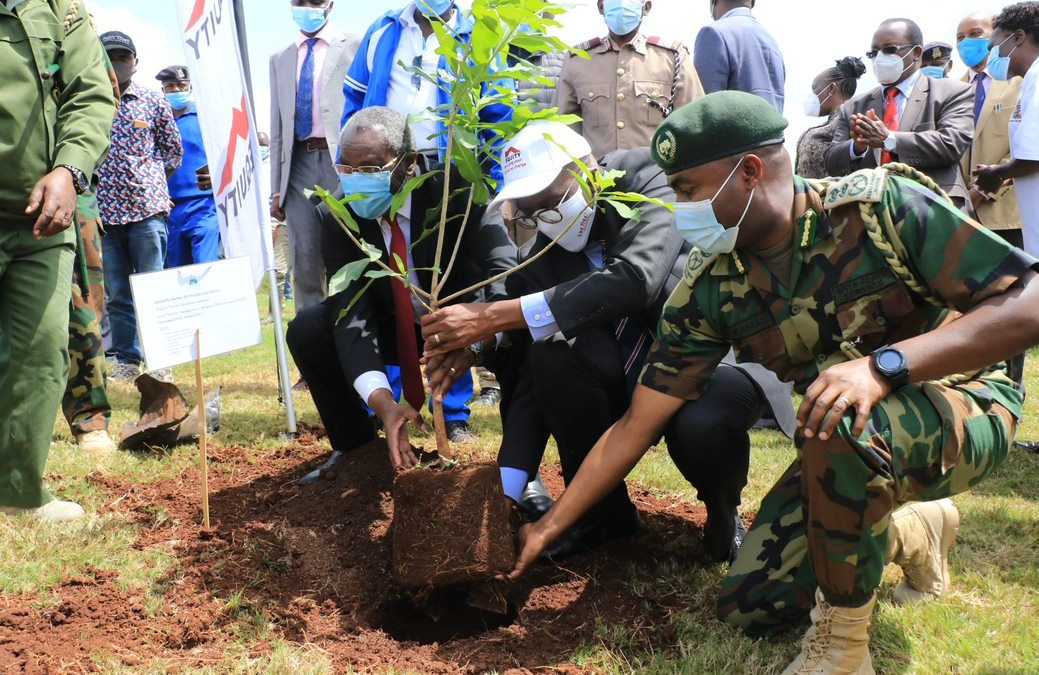 EQUITY GROUP FOUNDATION AND KENYA FOREST SERVICE PLANT 7,000 TREES AT VARIOUS UNIVERSITY OF NAIROBI CAMPUSES