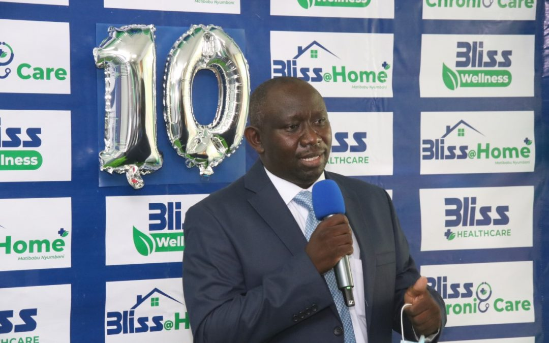Dr. Gabriel Njue appointed CEO of Bliss Healthcare