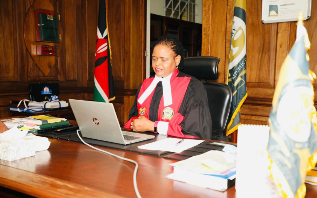 Chief Justice Martha Koome chairs first Supreme Court sitting