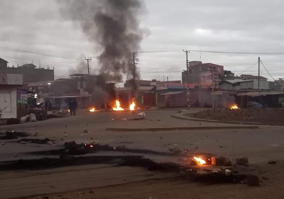 One dead, as police clash with traders over kiosks demolition in Kahawa West