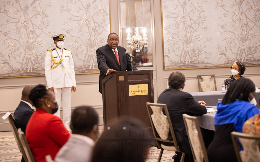 Pres. Uhuru oversees Kenya -USA trade partnership agreement
